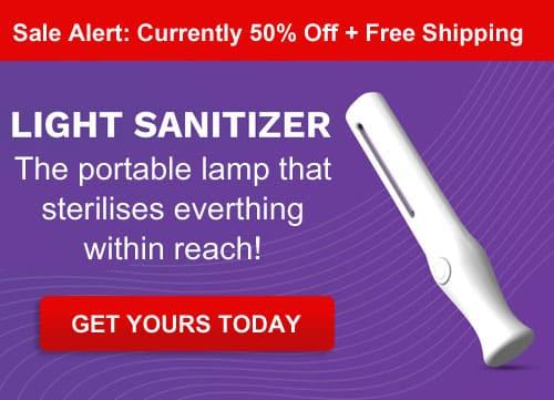 Buy Light Sanitizer On Sale